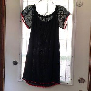 Tory Burch embroidered boho dress
